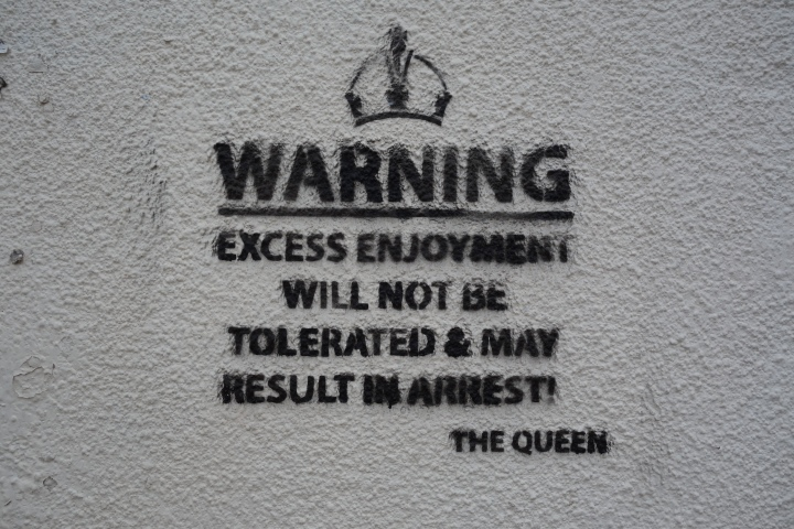 This was tagged on a wall on one of the streets we tracted and I think the people that live on that street actually subscribe to the credo because they were SO mean!
