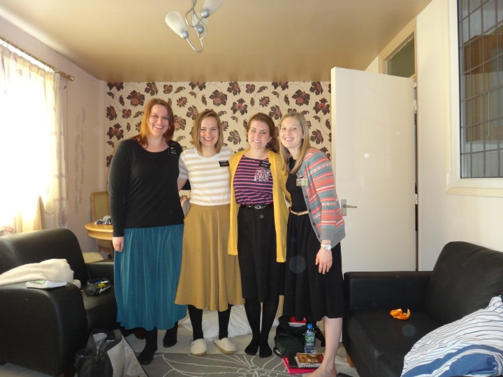 Exchange at the Keighly flat! Sister Schmidt and Sister Decker are the best missionaries!