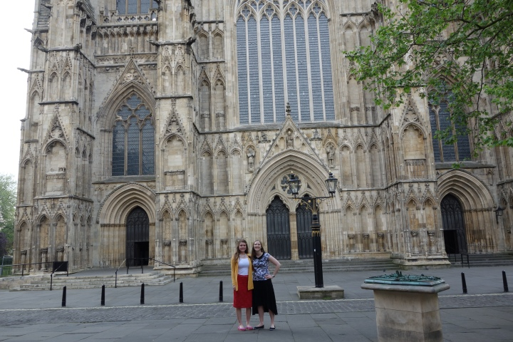 We had Zone Conference in York and ended up getting there a couple hours early because the train times lied to us. After getting up at 5AM we decided to make it worth it and take a walk to the York Minster before Zone Conference. What a perfect time we had!