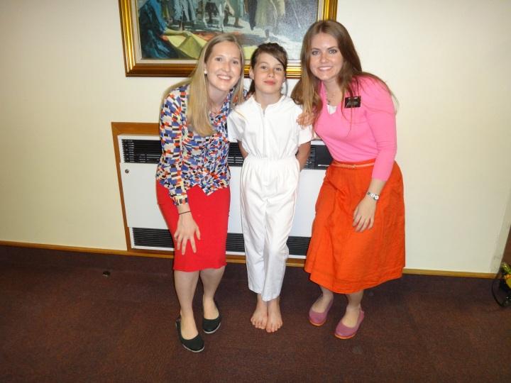 Kera's baptism