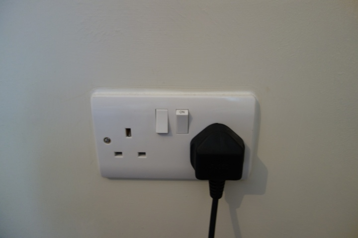 Last but not least, the outlets that you can switch off! Genius.